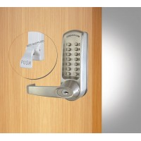 Codelock 600 Panic Access Brushed Steel