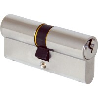 Elite Door 6 pin Euro Profile 90mm Double Cylinders (45/45) Nickel