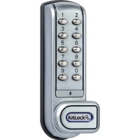 Kitlock KL1200 Digital Electronic Cabinet and Locker Lock Grey