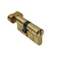 UE6 Anti Snap Euro Profile Thumbturn Cylinder 30T/30 Brass
