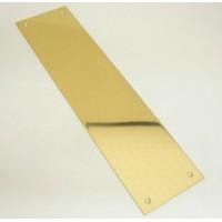 Polished Brass Finger Plate