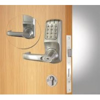 Codelock 5020 Heavy Duty Electronic Tubular Mortice Latch With Double Cylinder