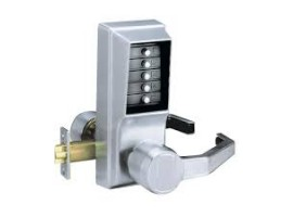 Kaba Simplex Unican 1031 Lever Type Satin Chrome Right Hand Key Overide And Passage Function