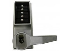 Kaba Simplex Unican 1021 Lever Type Satin Chrome Right Hand Key Overide